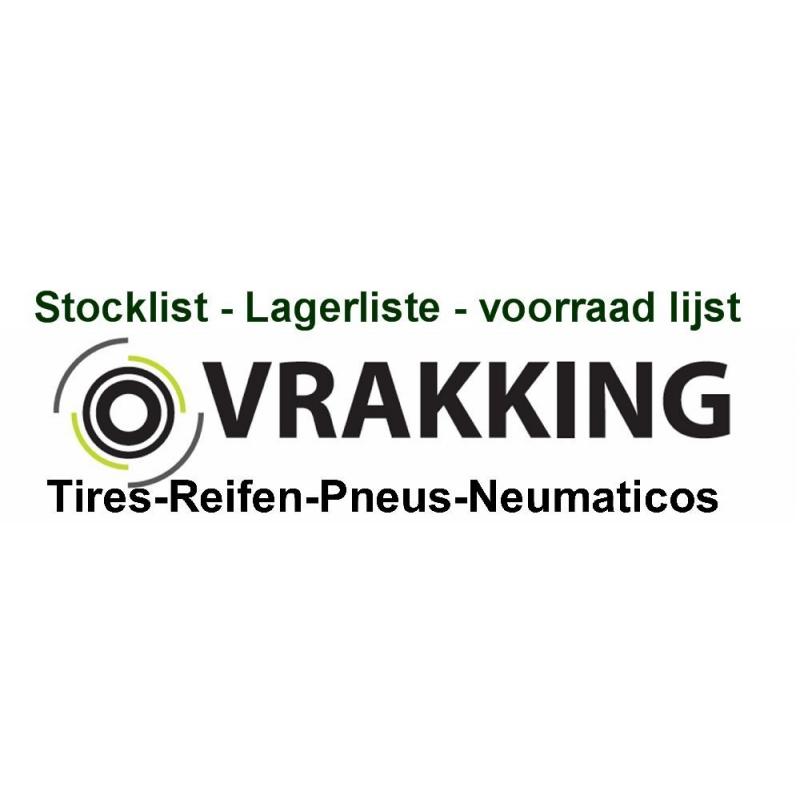 Stocklist Vrakking Tires