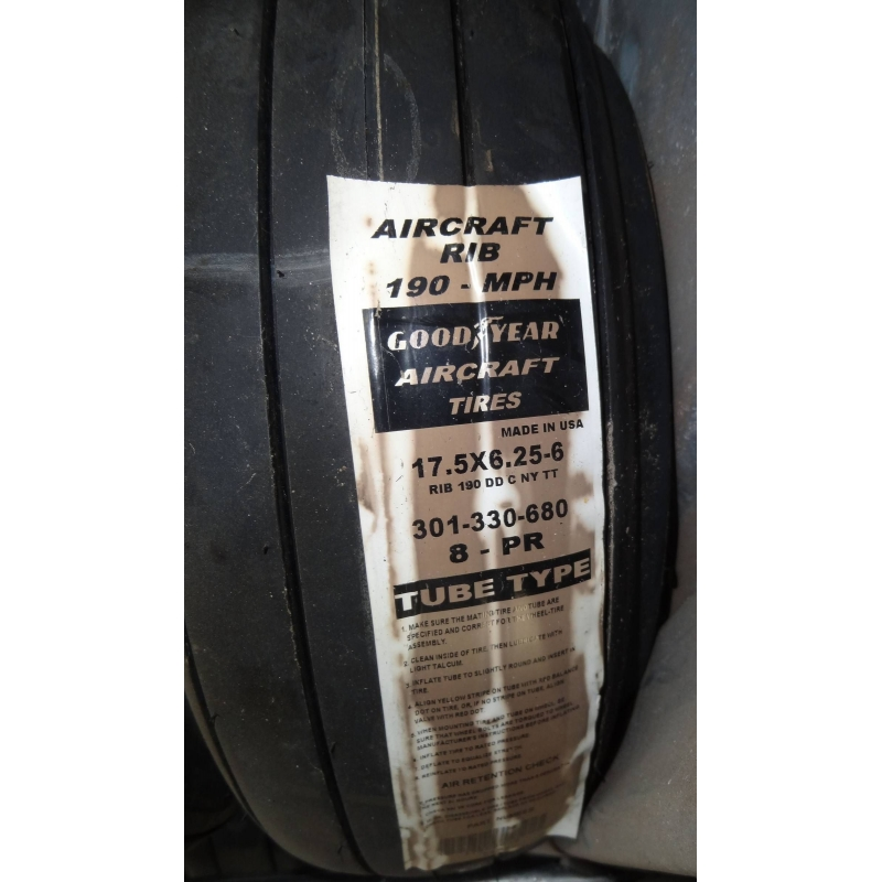 17.5x6.25-6 Aircrafttire Goodyear