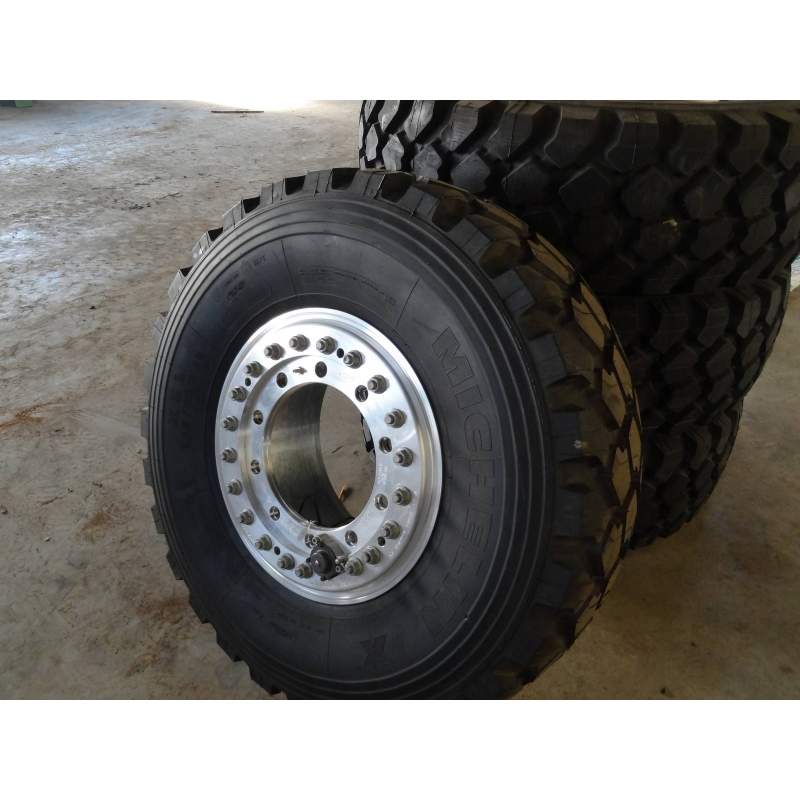365/80R20 Michelin XZL complete with Aluminium wheel