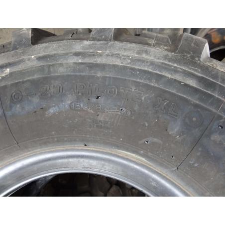 15.5/80R20 395/85R20 Michelin G20 pilote XL used