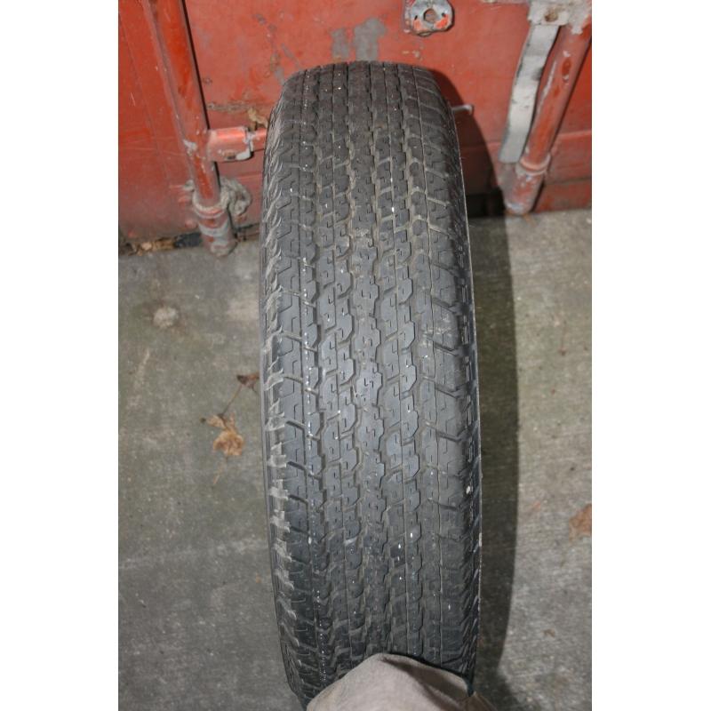 205R16 Bridgestone Dueller 840