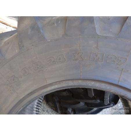14.9R24 Michelin XM27 tire