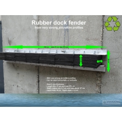 Massive Rubber Dock fender for ports