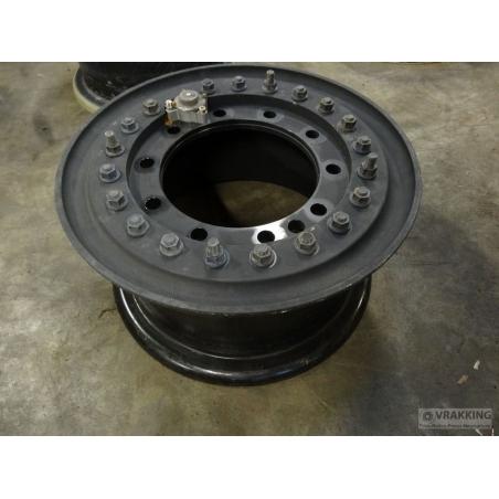 10x20 Hutchinson Aluminium 10 Hole Wheel Tubeless