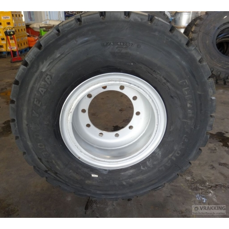 46x17.0R20 tire retread with GPZH Industrial Profile
