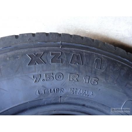 7.50R16 Michelin XZA DA tyre new