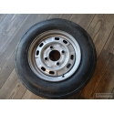 600x155R13 aircrafttire on trailer wheel