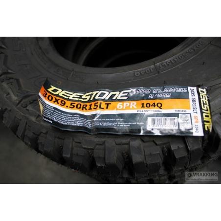 30x9.50R15 LT Deestone Mud Clawer R408 tire