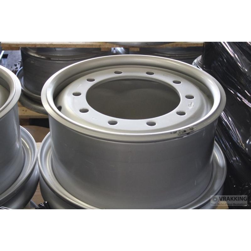 10.00V-20 Jantsa 10 hole ET120 Tubeless Silver