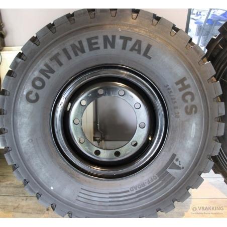 395/85R20 Continental HCS on Jantsa wheel