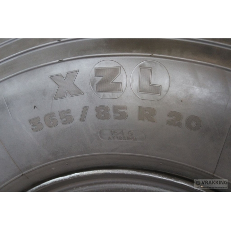 10.00x20 wheel 6 holes steel ET90 for Unimog