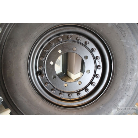 10.00x20 wheel 8 holes steel ET90