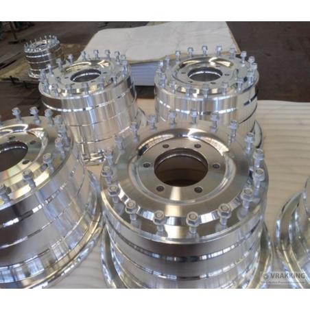 11.00x20 Wheel aluminium 6 holes Unimog