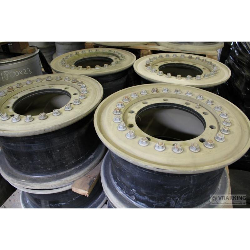 10.00x20 Hutchinson Aluminium wheel 1137