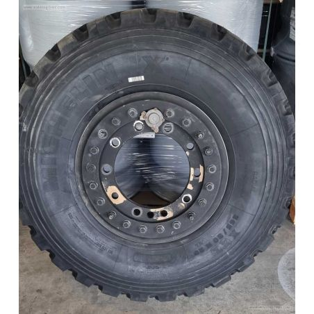 Aluminium wheel for tire size 365/80R20 +335/80R20