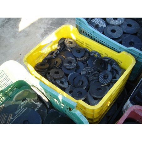 Examples from used tires (Recycling tires)