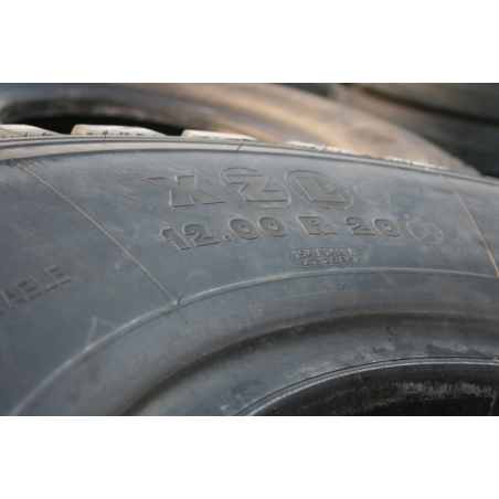 12.00R20 Michelin XZL like new