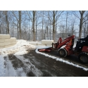 Snow/mud mover width 2,75 mtr