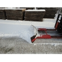 Snow/mud mover width 2,00 mtr
