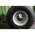 46x17.0R20 Used tire on 10 hole new Wheel ET 0
