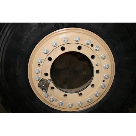 11x20 Hutchinson 10 hole Aluminium wheel