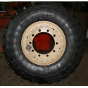 11x20 Hutchinson 10 hole Aluminium wheel offset 120