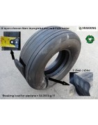 Aircraft tyre boatfender